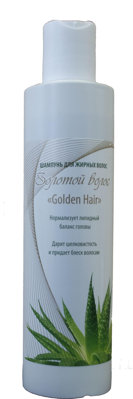 Шампунь для жирных волос Золотой волос